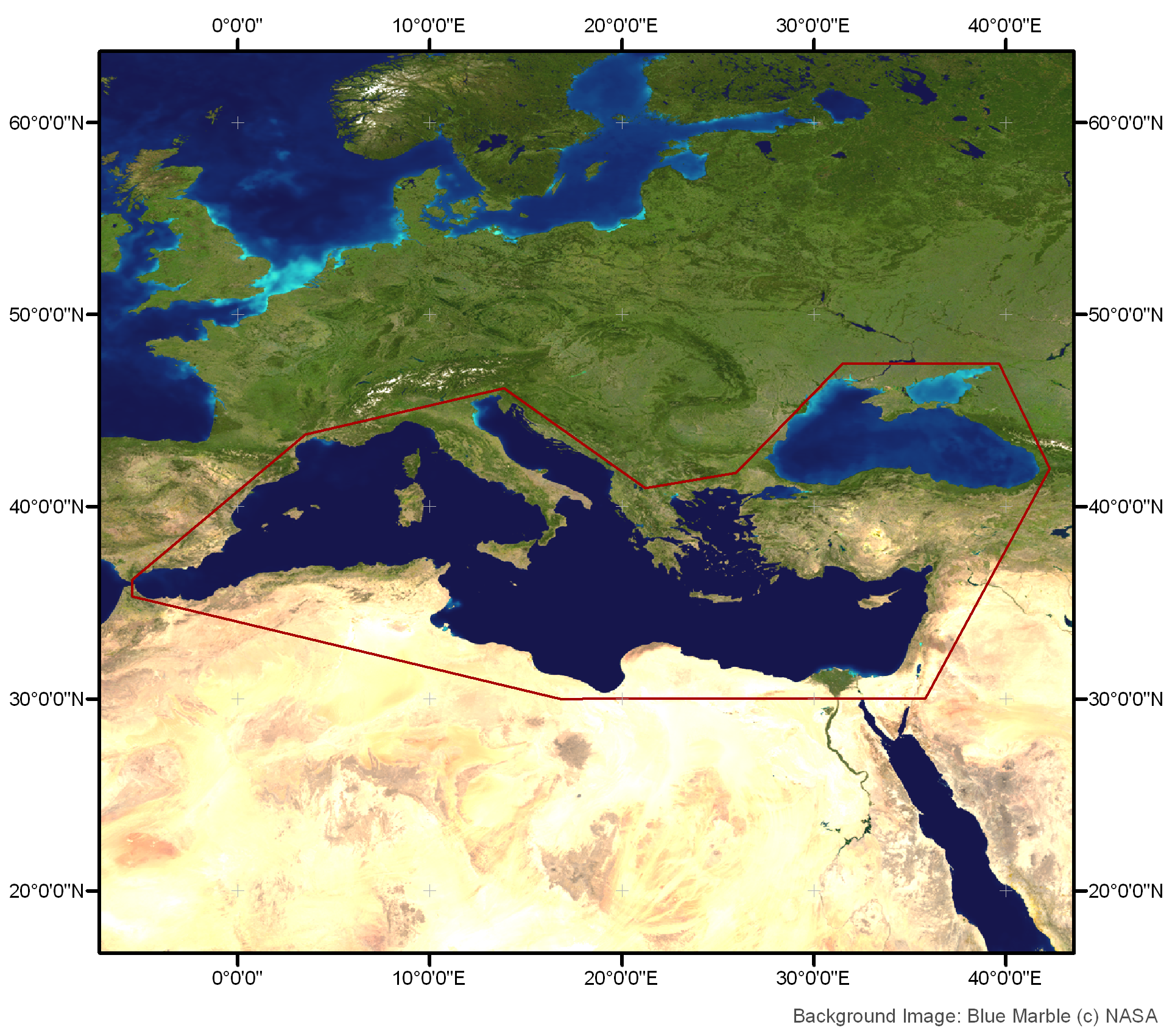 CoastColour  Site 3 Eastern Mediterranean  Black Sea